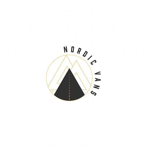 Nordic Vans logo concept