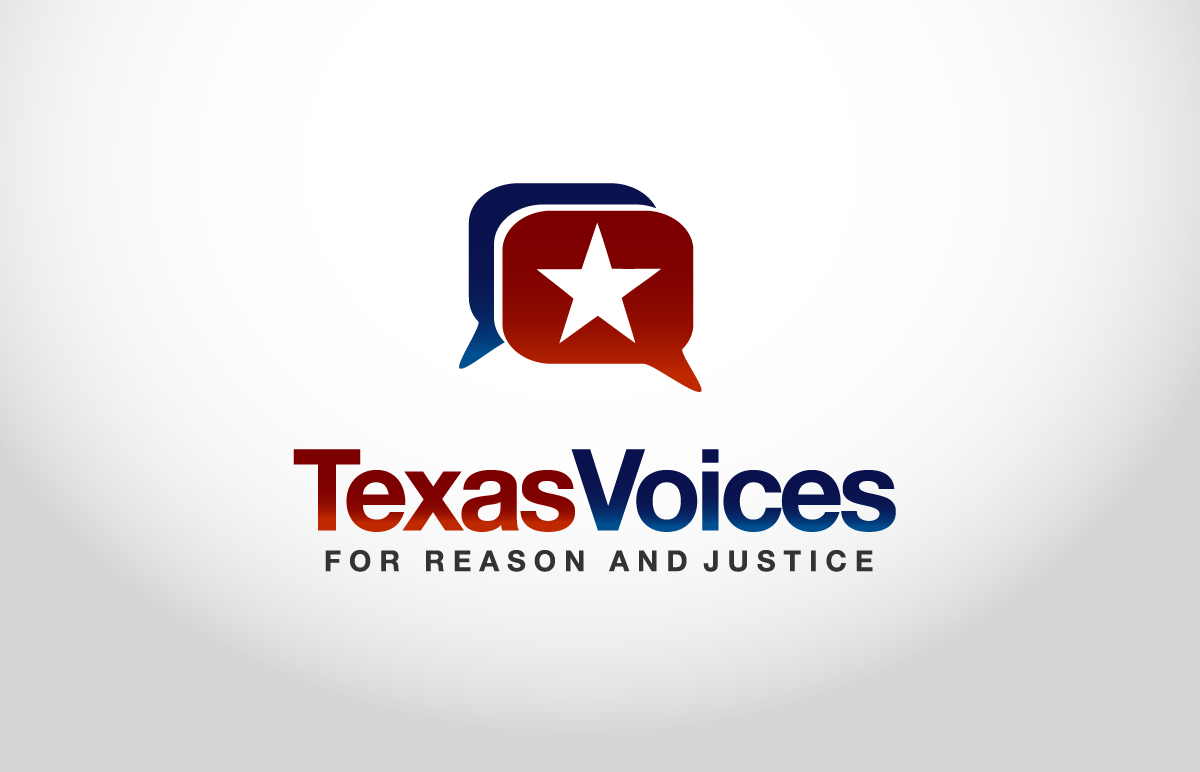 logo for Texas Voices For Reason and Justice