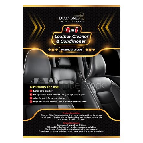 Premium Car Care Label