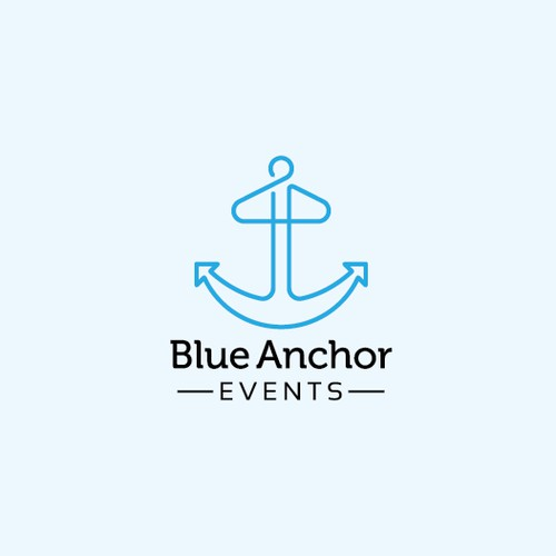 Logo for Blue Anchor Events
