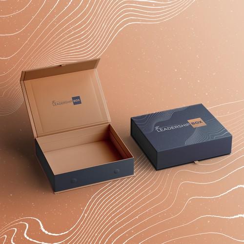 The Leadership Box Logo design