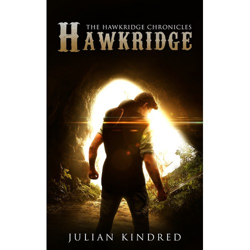 Cover art for the First Book in a Fantasy Western Series.
