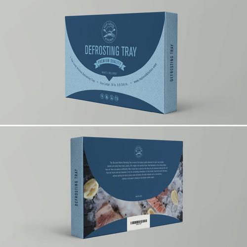 Modern packaging for defrosting plate