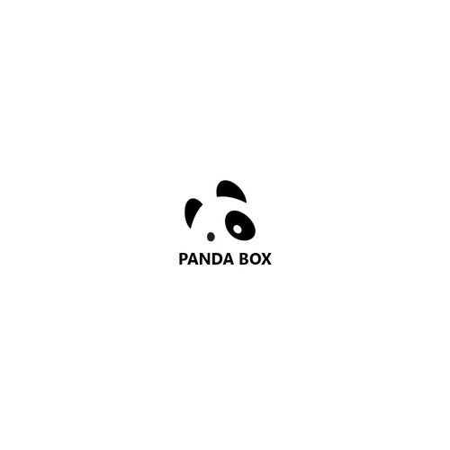 Logo design for panda box