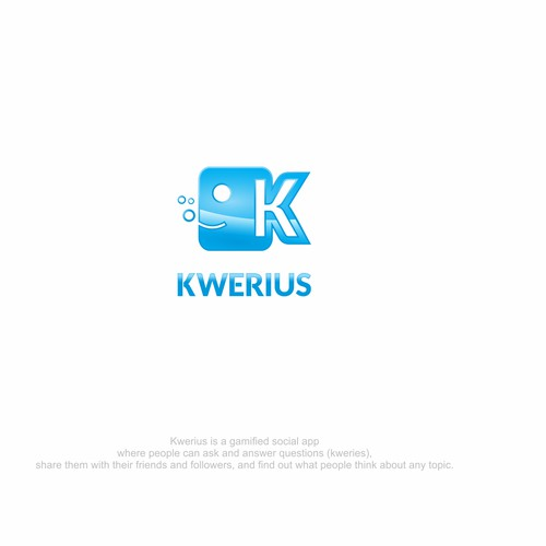 Fish logo for kwerius