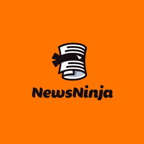 Creative logo for News Ninja