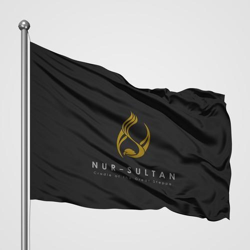 Bold Logo Concept for Nur Sultan Capital.