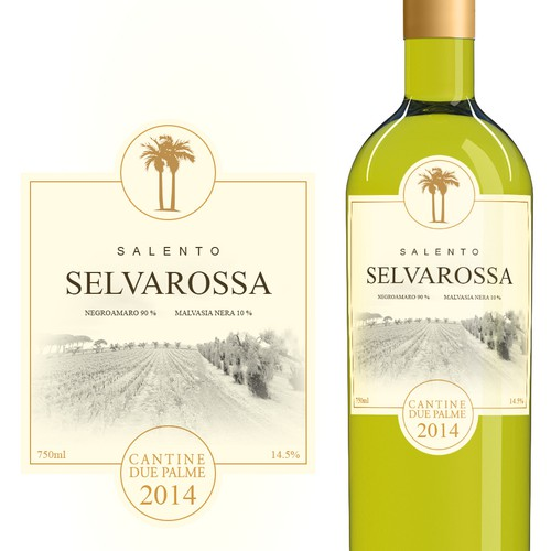 New label and screwcap design for top selling Italian wine
