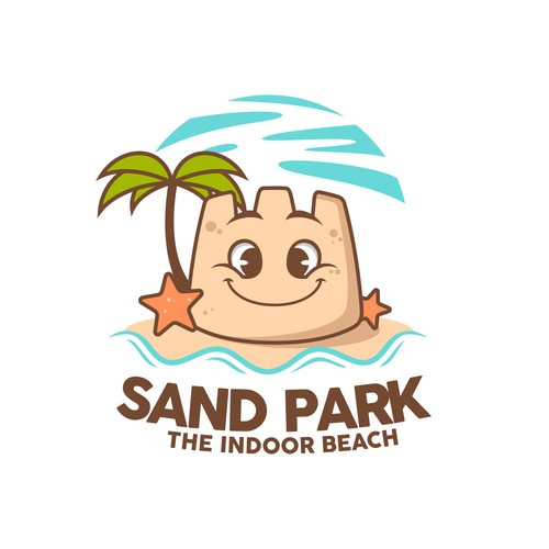 Fun Indoor Beach Logo Designs