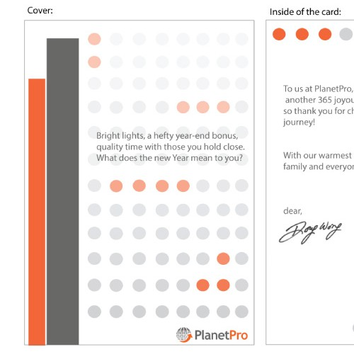 Create a Holiday Card for A Fast Growing Silicon Valley Start-Up!