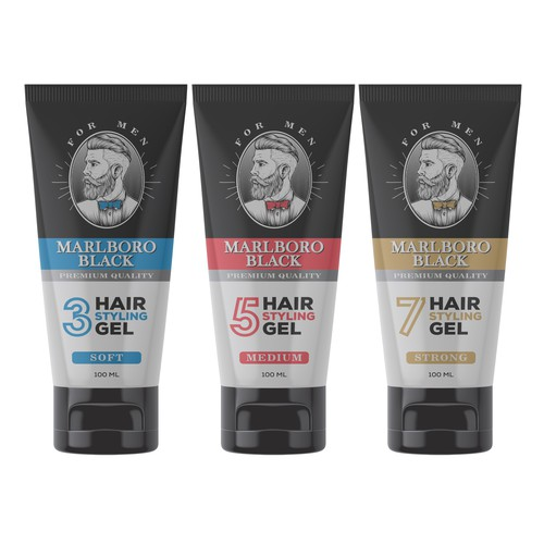 Marlboro Black - Hair Styling Gel