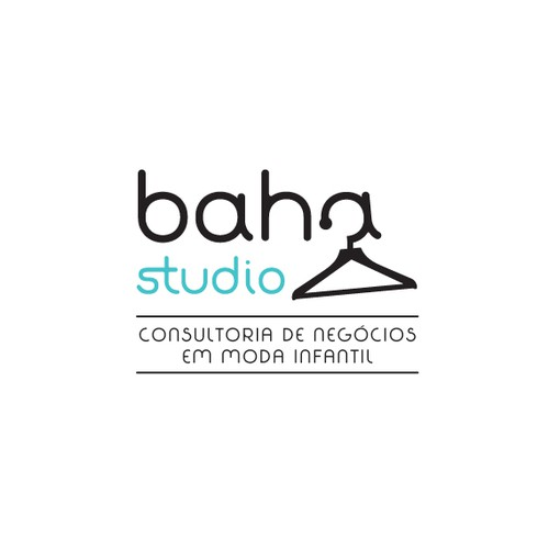 Baha Studio logo (kids fashion consulting)