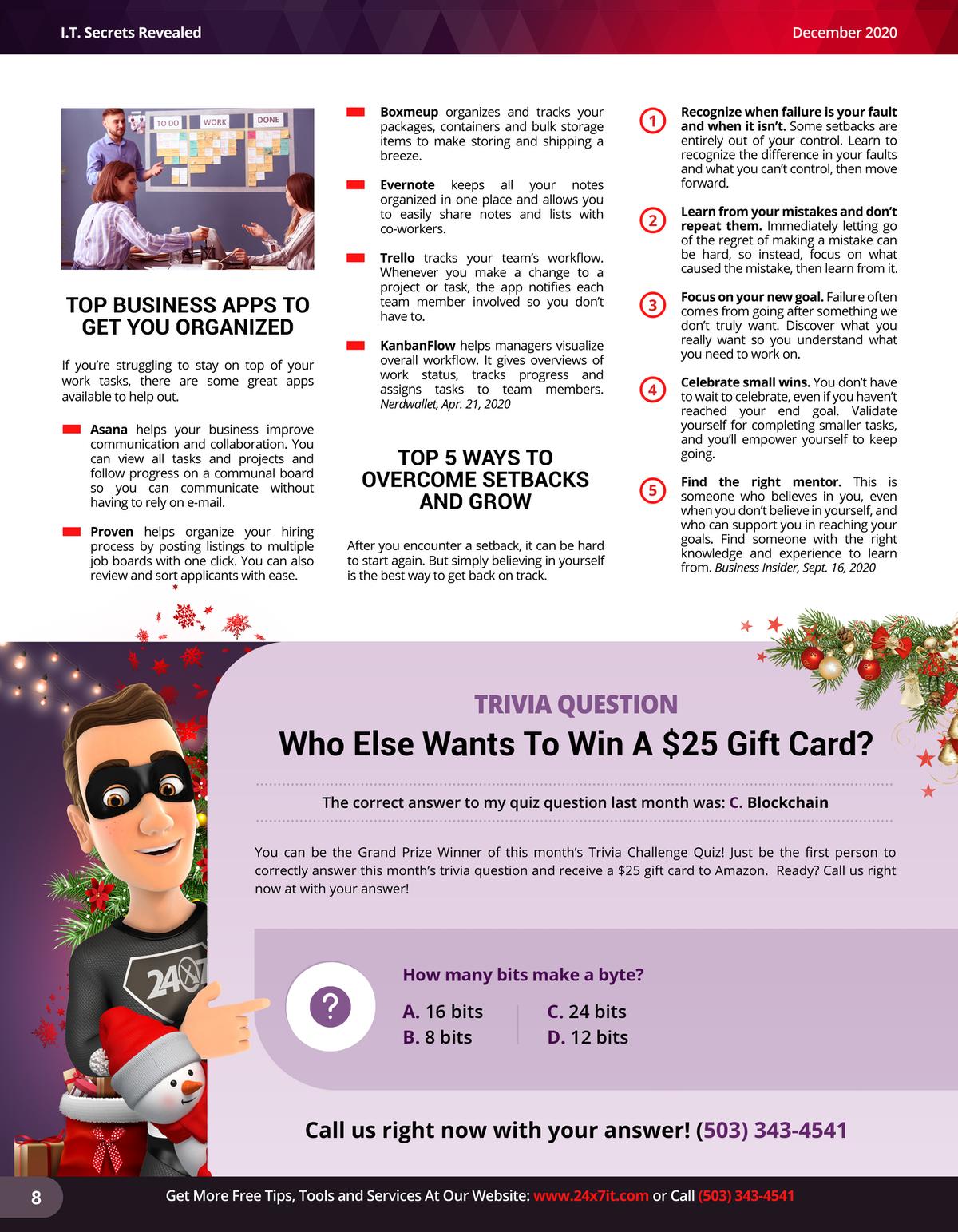 24x7it December Newsletter