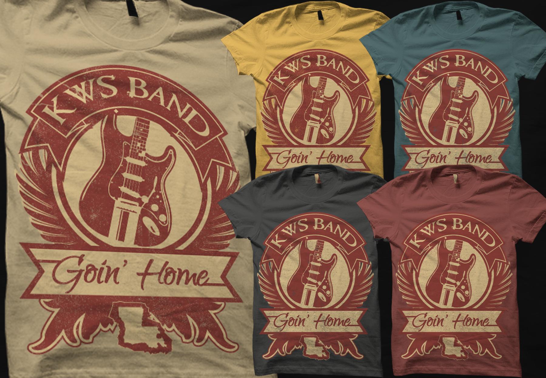 Kenny Wayne Shepherd Goin' Home T-Shirt Contest