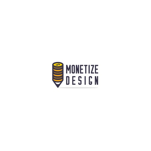 Logo concept for MonetizeDesign