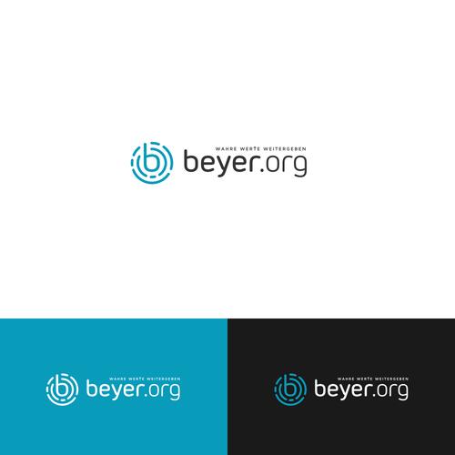 modern logo for a christian media company
