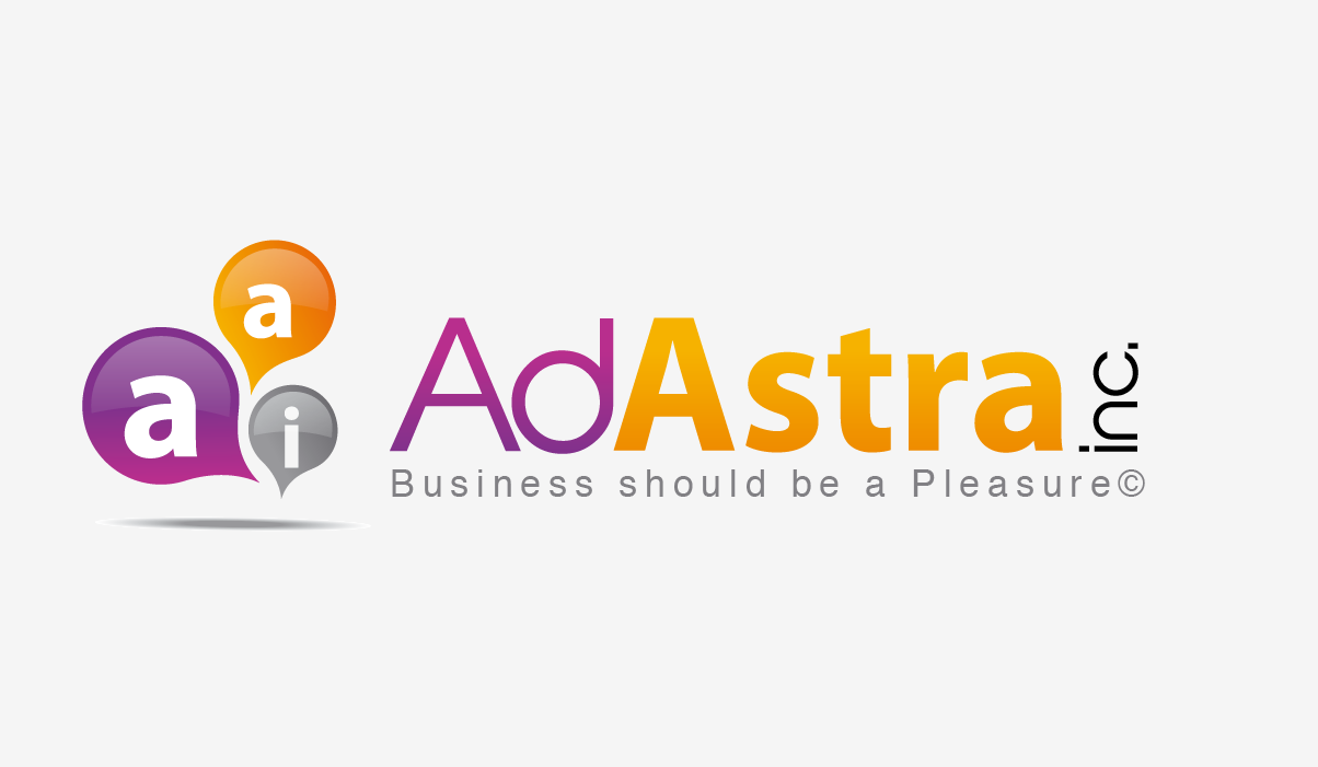 Create the next logo for Ad Astra Inc
