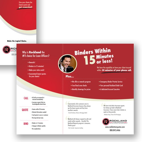Brochure Design for Insurance Agency
