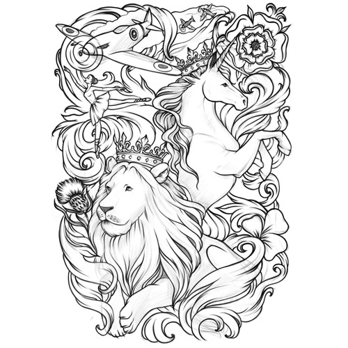 Design tattoo / sketch