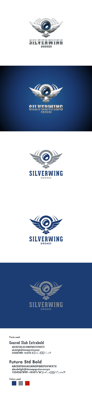 Create a modern/retro design for SilverWingDrones