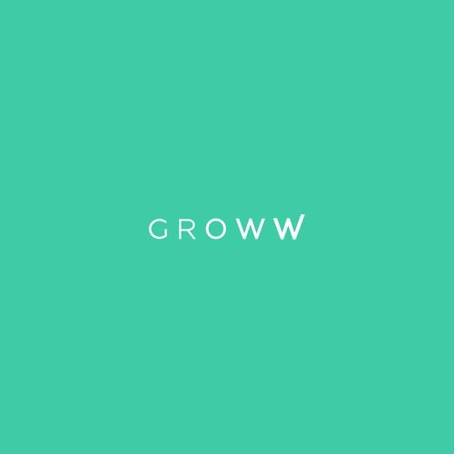 Logo design for GROWW