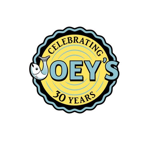 Joey's Restaurant Anniversary