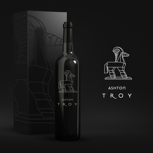 Logo for a Wine Label