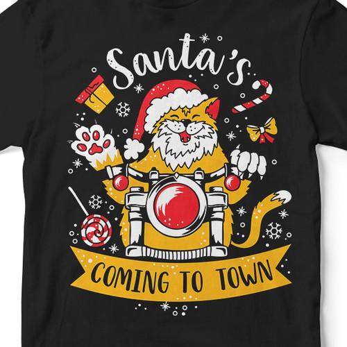 Santa's coming to town!