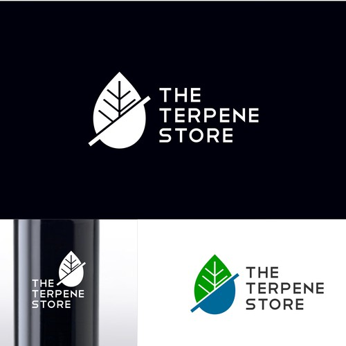 modern logo for the terpenes store