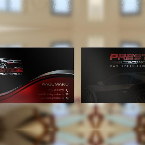 Prestige Business card