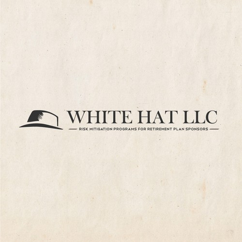 Express the values and images from the 30s-40s in a modern day image of a white hat and lettering