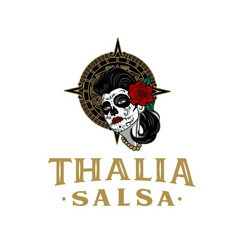 Logo for traditional Mexican salsa