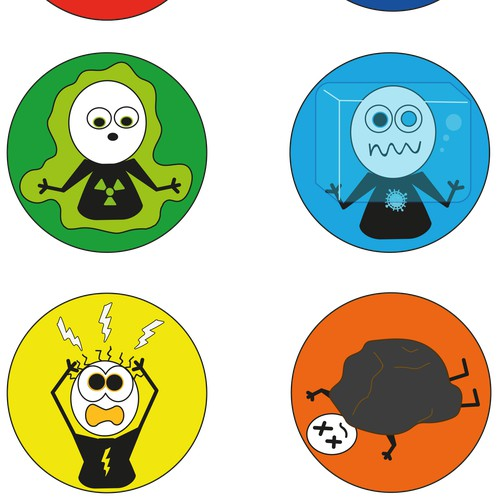 Design a Set of 6 Elemental Abilities for Playground/Dodgeball/Foursquare Balls