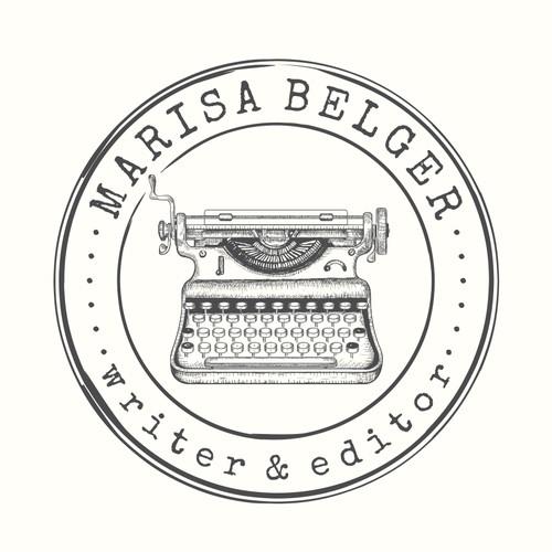 Vintage Logo For MARISA BELGER