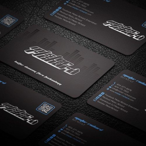 Business cards for Mister Richard