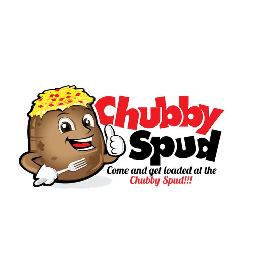 Chubby Spud Character