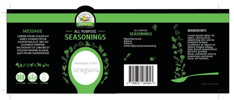 Seasoning bottle design