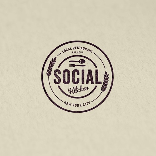 Social Kitchen restaurant logo