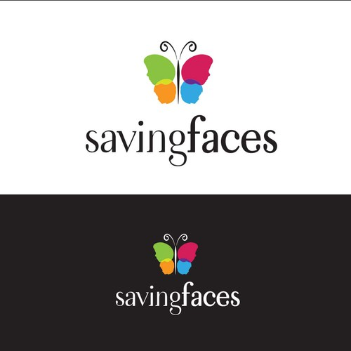 Logo for Saving Faces