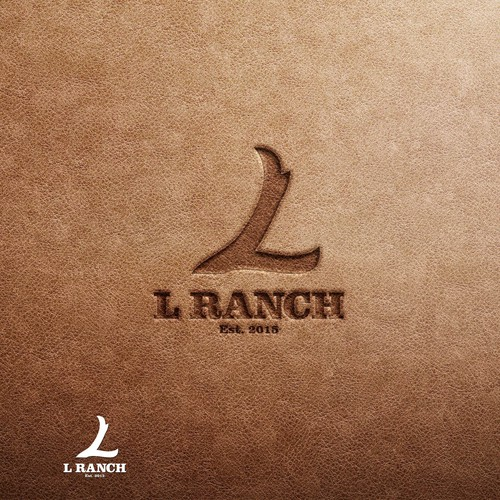 Logo for L RANCH