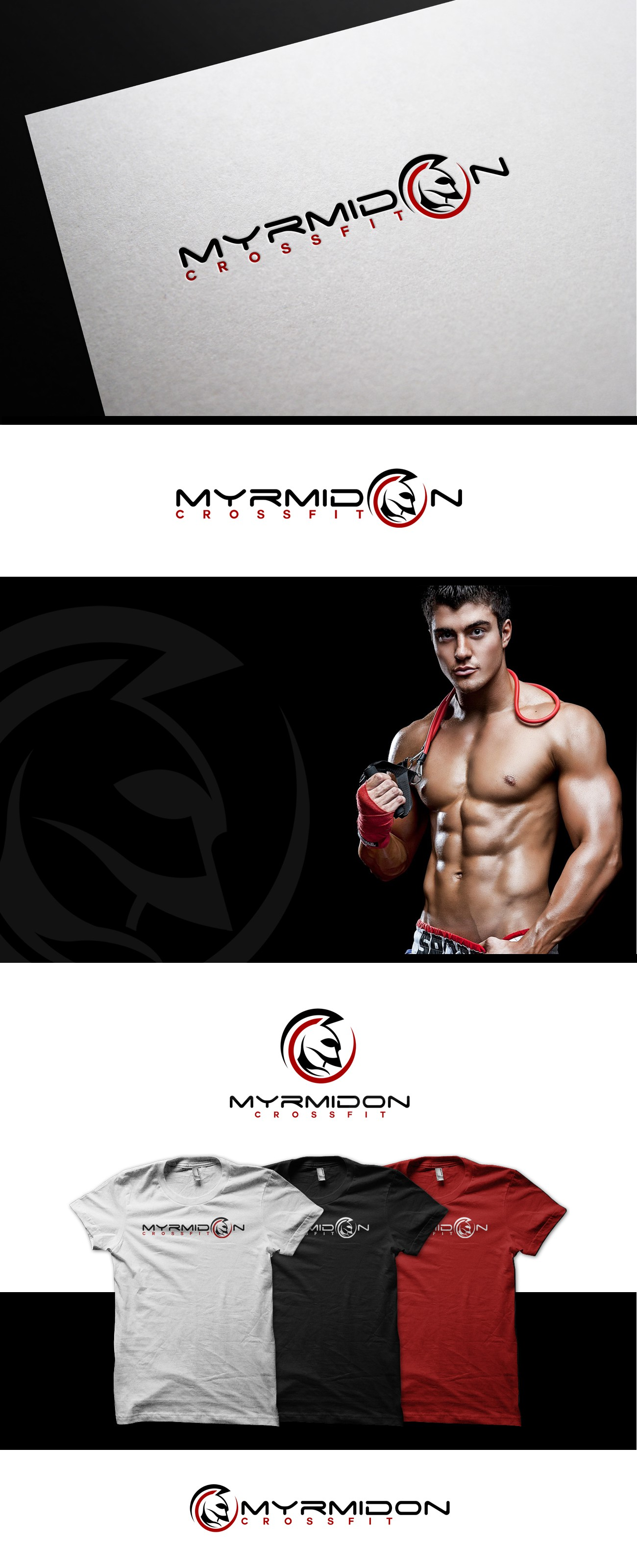 New logo wanted for Myrmidon CrossFit