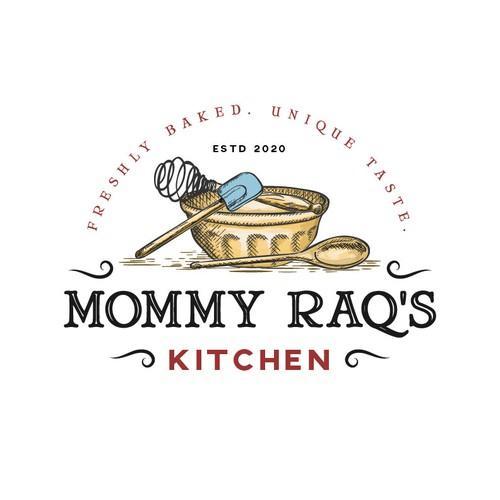 Organic logo for bakery store