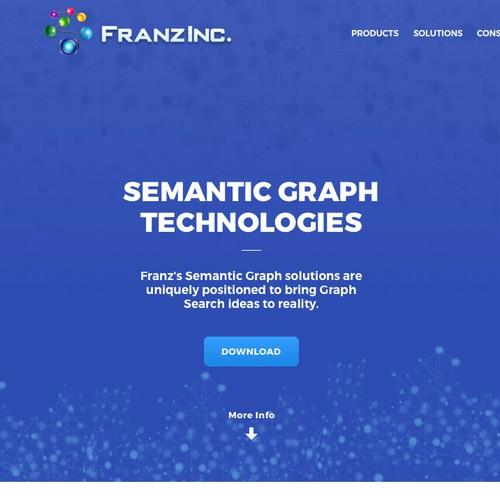 Landing page for Franz.com