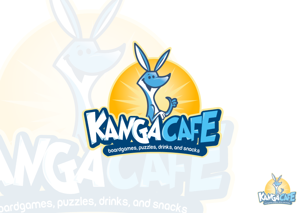 Create an AWESOME Logo for a UNIQUE Boardgame Cafe!
