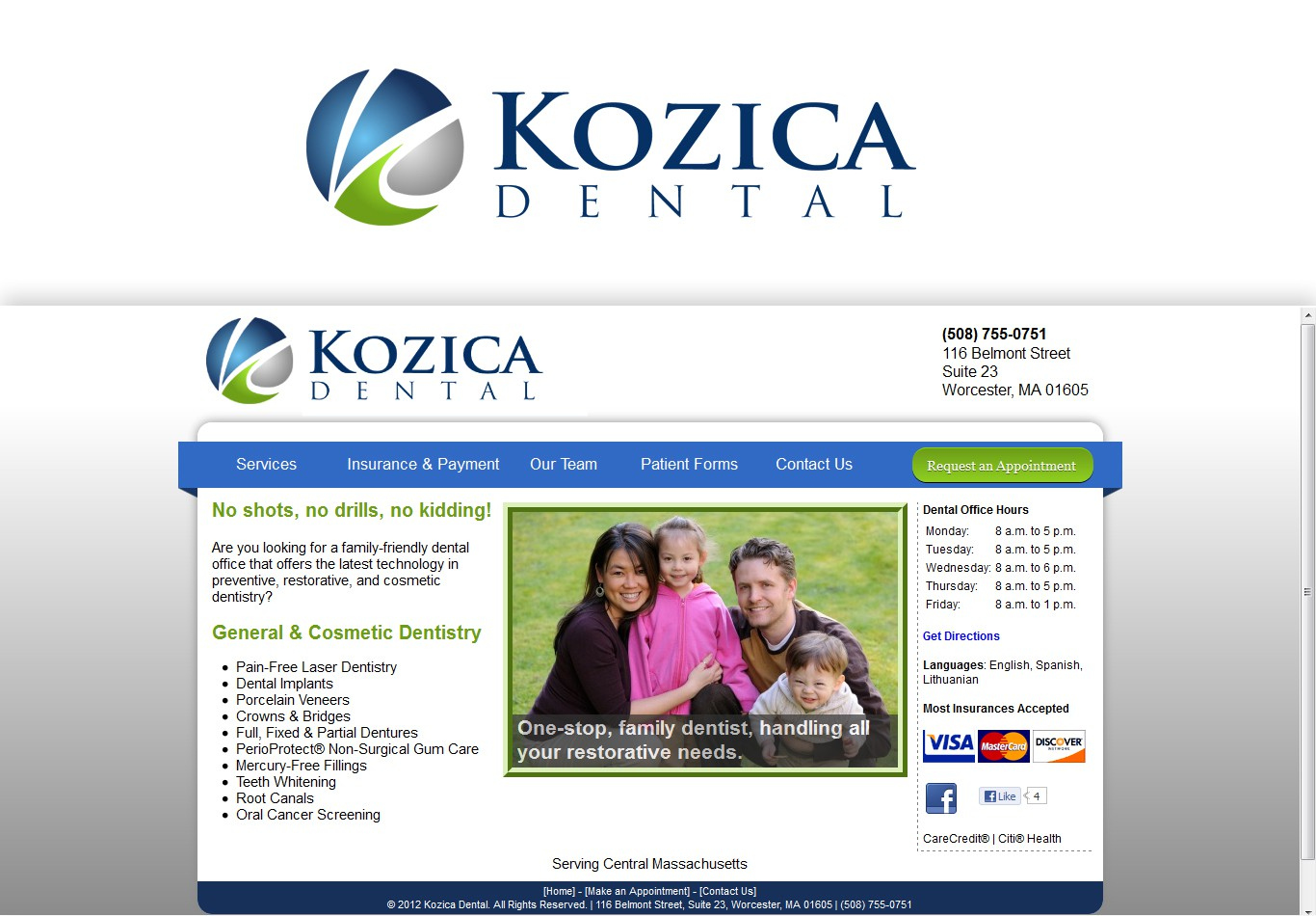 New logo wanted for Kozica Dental