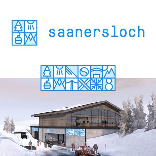 Branding for a ski lift company