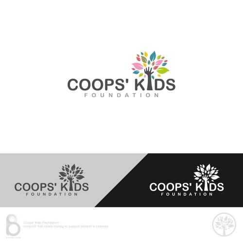 Logo Design for Coops' Kids Foundation