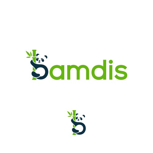 Online shop logo for bamboo products