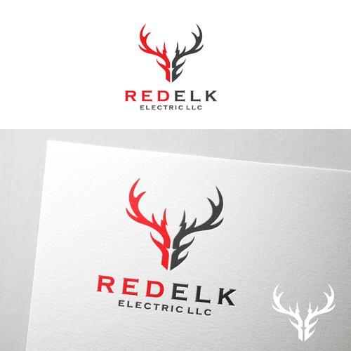 Icon logo design concept for REDELK