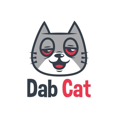 dab cat logo